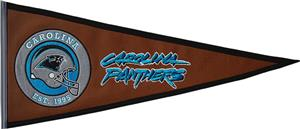 Winning Streak NFL Carolina Panthers Pennant