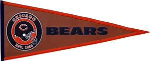 Winning Streak NFL Chicago Bears Pigskin Pennant
