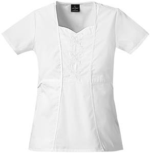Baby Phat Women's Fabulosity Scrubs Top