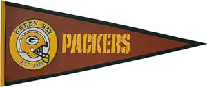 Winning Streak Green Bay Packers Pigskin Pennant