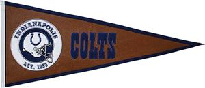 Winning Streak NFL Indianapolis Colts Pennant