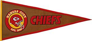 Winning Streak NFL Kansas City Chiefs Pennant