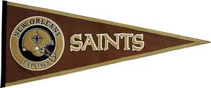 Winning Streak NFL New Orleans Saints Pennant
