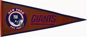 Winning Streak NFL New York Giants Pigskin Pennant