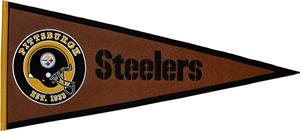 Winning Streak NFL Steelers Pigskin Pennant