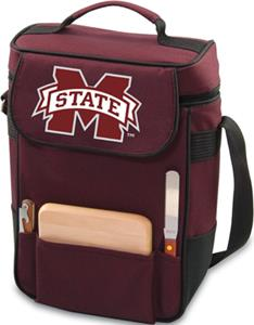 Picnic Time Mississippi State Duet Wine Tote