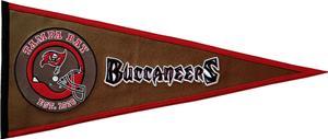 Winning Streak NFL Buccaneers Pigskin Pennant
