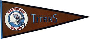 Winning Streak NFL Tennessee Titans Pennant