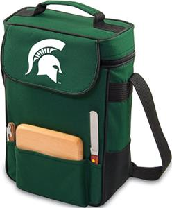 Picnic Time Michigan State Spartans Duet Wine Tote