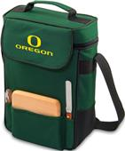Picnic Time University of Oregon Duet Wine Tote