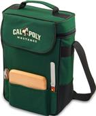 Picnic Time Cal Poly Mustangs Duet Wine Tote