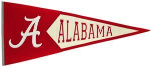 Winning Streak NCAA Alabama Classic Pennant
