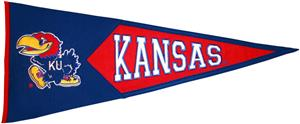 Winning Streak NCAA KU Classic Pennant
