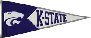 Winning Streak NCAA Kansas State Classic Pennant