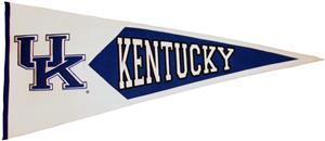 Winning Streak NCAA Kentucky Classic Pennant