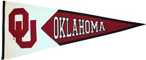 Winning Streak NCAA Oklahoma Univ. Classic Pennant