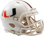 NCAA Miami Speed Mini Helmet