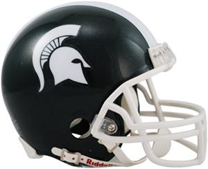 NCAA Michigan State Mini Helmet (Replica)