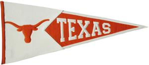 Winning Streak NCAA Univ. of Texas Classic Pennant