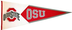 Winning Streak NCAA Ohio State Classic Pennant