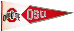 Winning Streak NCAA Ohio State Classic Pennant