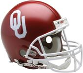 NCAA Oklahoma On-Field Full Size Helmet (VSR4)