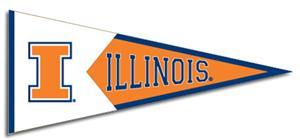 Winning Streak NCAA Illinois Classic Pennant