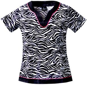 Baby Phat Kingdom Animal Instinct Scrub Top