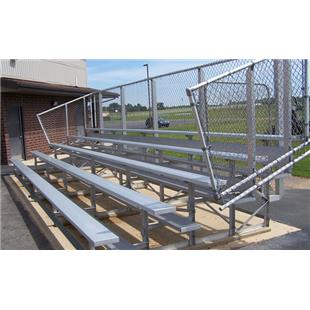 NRS 5 Row Aluminum Bleachers