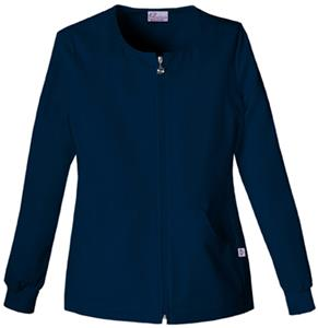 Skechers Women's Fashion Solids Warm-Up Jacket