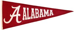 Winning Streak NCAA Alabama University Pennant