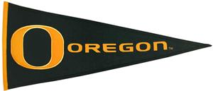 Winning Streak NCAA University of Oregon Pennant