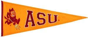Winning Streak NCAA Arizona State Univ. Pennant