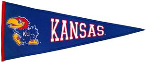 Winning Streak NCAA University of Kansas Pennant