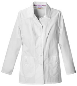 "Skechers Women's Fashion Whites 28"" Scrub Lab Coat"