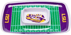 COLLEGIATE Lousiana St Chip &amp; Dip Tray (Set of 6)