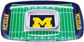 COLLEGIATE Michigan Chips & Dip Tray (Set of 6)