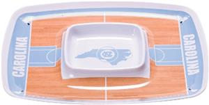 COLLEGIATE N Carolina Chips & Dip Tray (Set of 6)