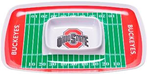 COLLEGIATE Ohio State Chips & Dip Tray (Set of 6)