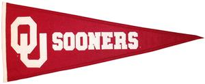Winning Streak NCAA University of Oklahoma Pennant