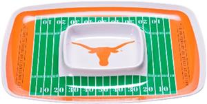 COLLEGIATE Texas Chips &amp; Dip Tray (Set of 6)