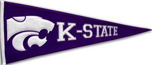Winning Streak NCAA Kansas State Pennant