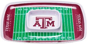 COLLEGIATE Texas A&amp;M Chips &amp; Dip Tray (Set of 6)
