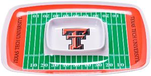 COLLEGIATE Texas Tech Chips & Dip Tray (Set of 6)