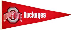 Winning Streak NCAA Ohio State University Pennant