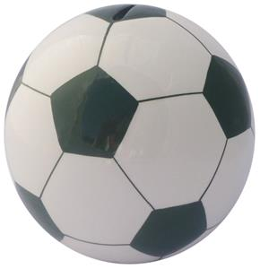 Soccer Ball Dark Green Money Bank