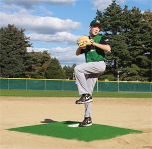 "Promounds Bronco 6"" Green Baseball Pitching Mound"