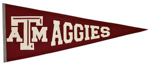 Winning Streak NCAA Texas A&M Traditions Pennant