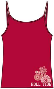 Emerson Street Alabama Womens Stretch Cami