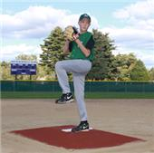 "Promounds Bronco 6"" Clay Baseball Pitching Mound"